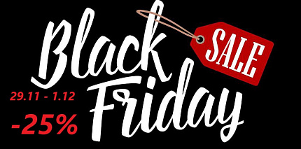 Black Friday 25%